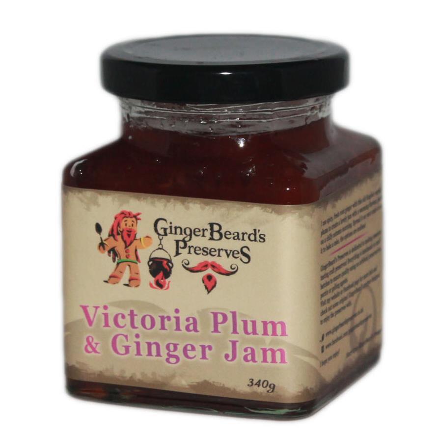 victoria plum ginger jam gingerbeard 39 s preserves. Black Bedroom Furniture Sets. Home Design Ideas