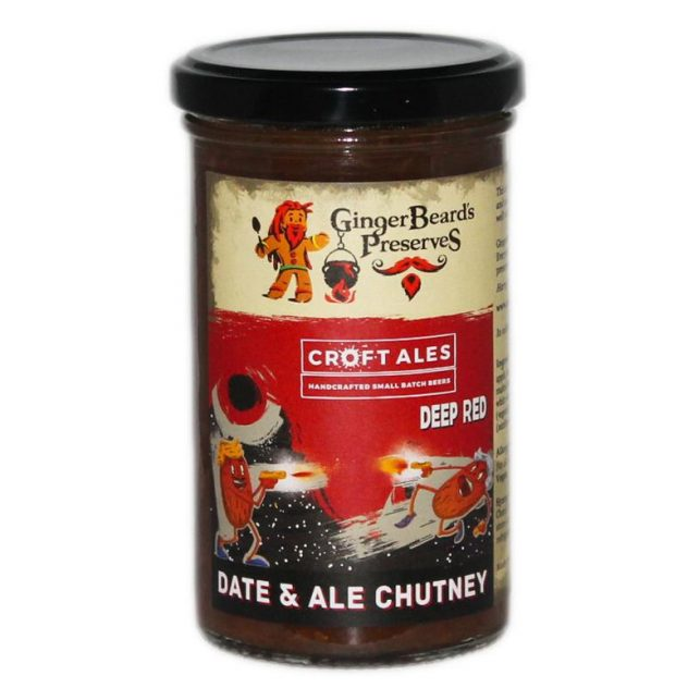 Deep Red Date & Ale Chutney